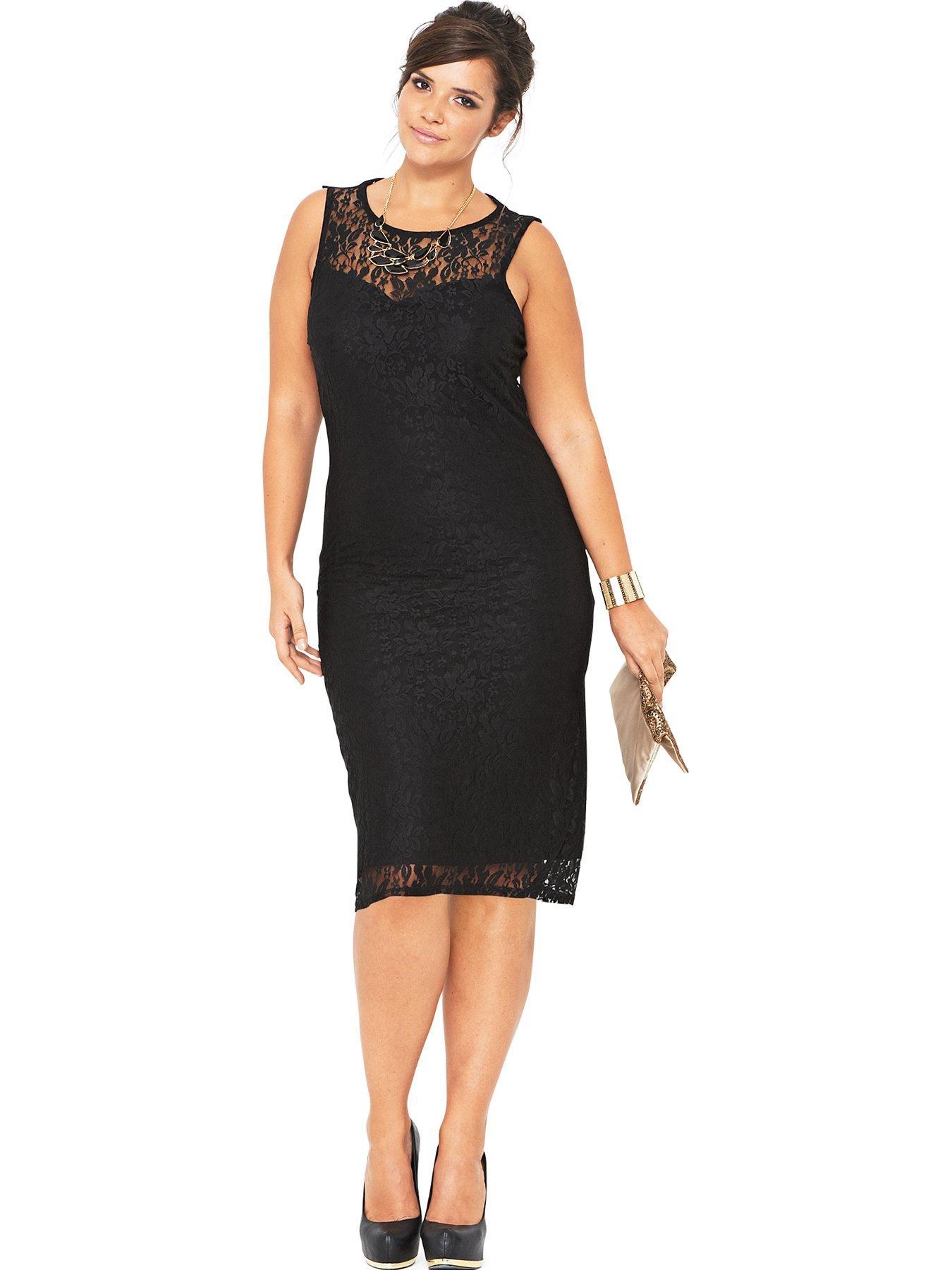 V neck black dress uk qualification
