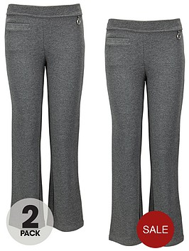 top-class-girls-jersey-trousers-2-pack