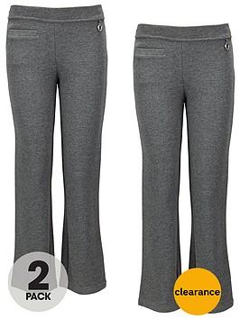 top-class-girls-jersey-trousers-2-pack