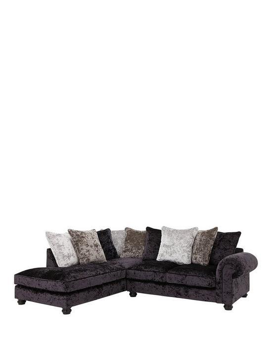 e659457ea51 Laurence Llewelyn-Bowen Scarpa Fabric Scatter Back Left Hand Corner Chaise  Sofa
