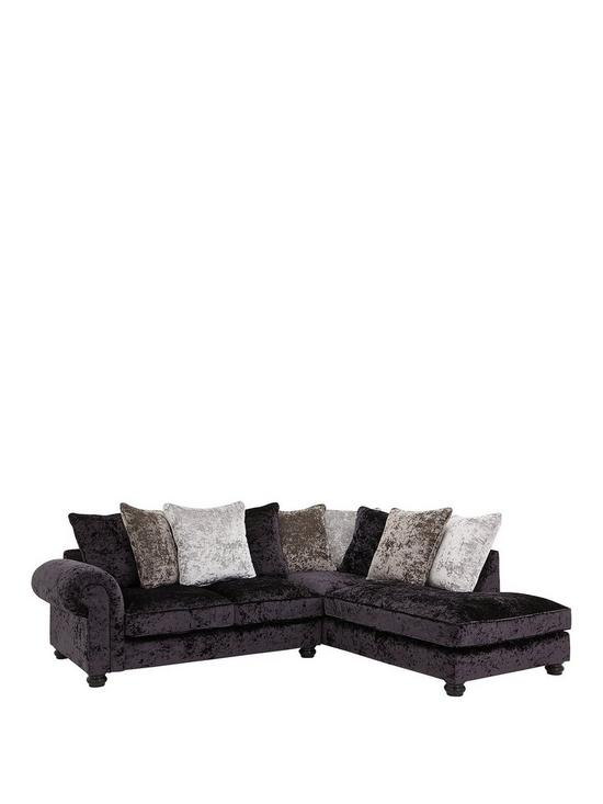 Scarpa Fabric Scatter Back Right Hand Corner Chaise Sofa