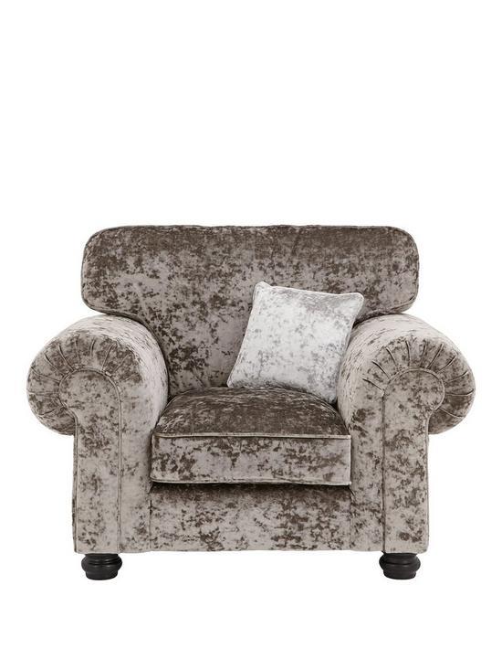 6bb78ee61 Laurence Llewelyn-Bowen Scarpa Fabric Armchair