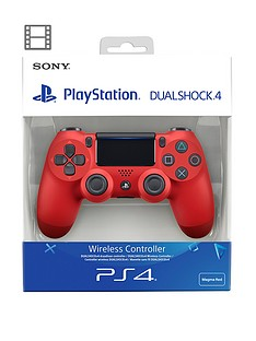 Playstation 4 DualShock 4 Wireless Controller V2 - Magma Red