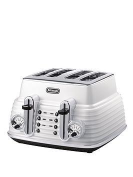 delonghi-scultura-ctz4003w-4-slice-toaster-white
