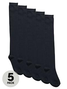 top-class-girls-long-school-socks-5-pack