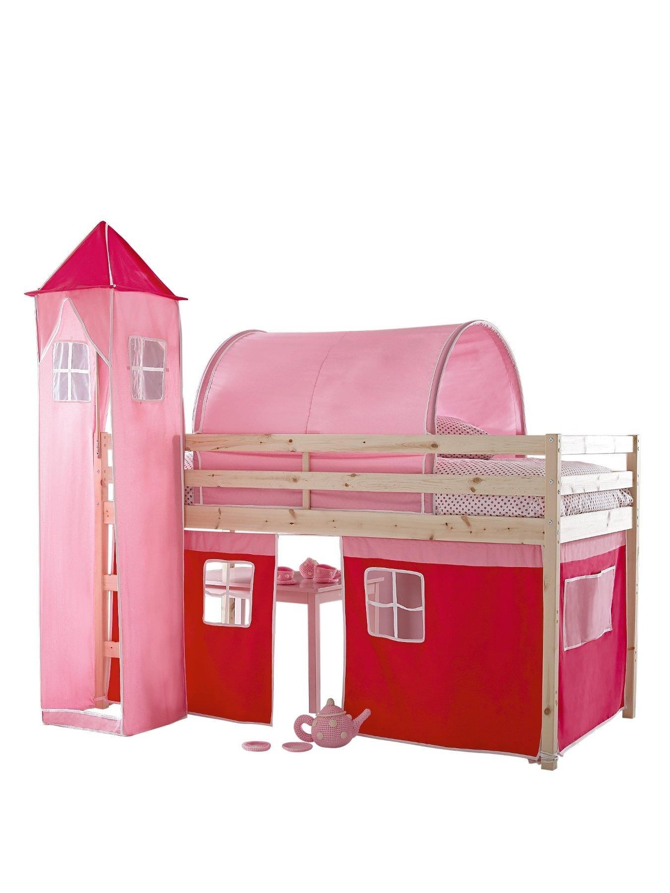kidspace galaxy midsleeper with tent tower and tunnel