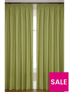 canvas-lightweightnbsp3innbsppencil-pleated-unlined-curtains