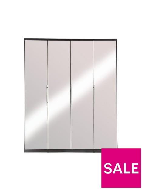 prague-4-door-wardrobe-with-mirrored-doors-and-internal-chest-of-3-drawersnbsp