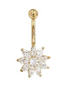 love-gold-9-carat-gold-crystal-flower-body-bar