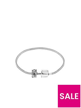 the-love-silver-collection-sterling-silver-bracelet-with-stopper-bead