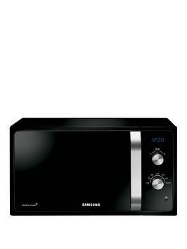 samsung-ms23f301eak-23-litre-800-watt-solo-microwave-with-ceramic-enamel-interior-black