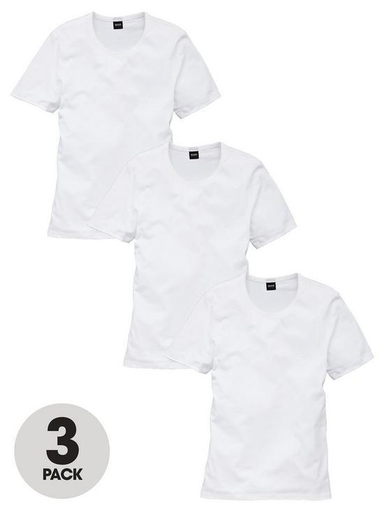 8e7e854ac65cda BOSS Core 3 Pack T-Shirts