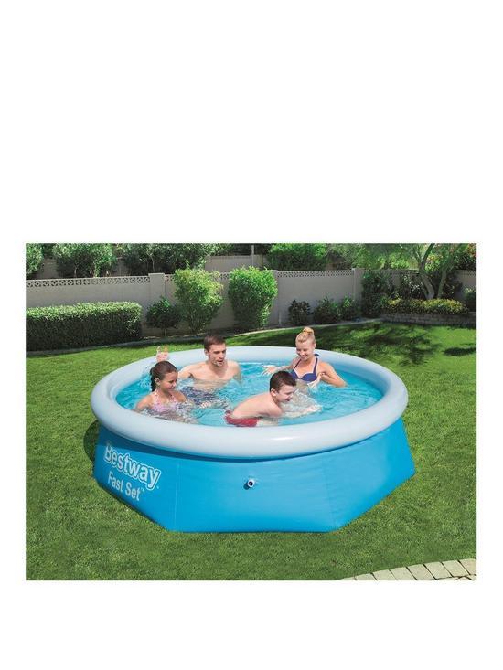 Bestway 8ft Fast Set Pool   very.co.uk