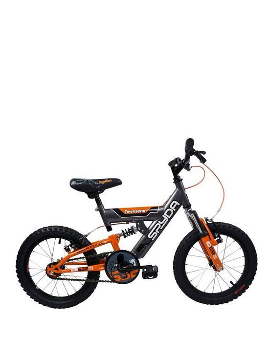 af6811101e5 Townsend Spyda Full Suspension Boys Bike 16 inch Wheel | very.co.uk