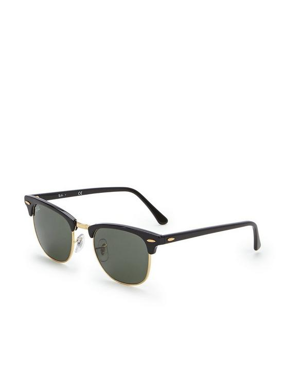 6ca8aee91a Ray-Ban Clubmaster Sunglasses - Black