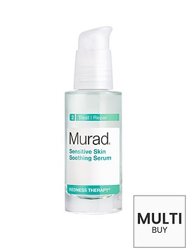 murad-free-gift-redness-therapy-sensitive-skin-soothing-serum-30mlnbspamp-free-murad-skincare-set-worth-over-pound55nbsp