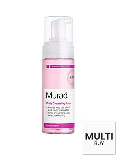 murad-pore-reform-daily-cleansing-foam-150mlnbspamp-free-murad-peel-polish-amp-plump-gift-set