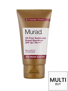 murad-free-gift-oil-free-sunscreen-broad-spectrum-spf-30-pa-50mlnbspamp-free-murad-skincare-set-worth-over-pound55