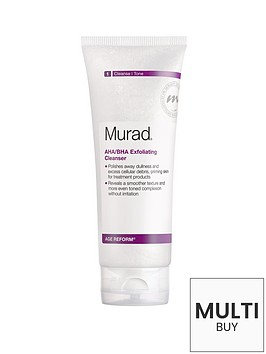 murad-age-reform-ahabha-exfoliating-cleanser-200ml-amp-free-murad-hydrating-heroes-set