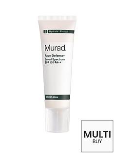 murad-free-gift-man-face-defenseregnbspspf-15nbspamp-free-murad-skincare-set-worth-over-pound55