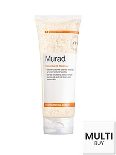 murad-environmental-shield-essential-c-cleanser-200mlnbspamp-free-murad-peel-polish-amp-plump-gift-set