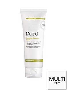 murad-free-gift-resurgence-renewing-cleansing-cream-200mlnbspamp-free-murad-skincare-set-worth-over-pound55