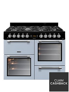 Leisure CK100F232B 100cm Dual Fuel Cooker - Blue