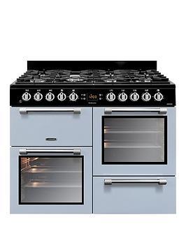 Leisure Ck100F232B 100Cm Dual Fuel Cooker - Blue