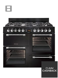Leisure CK100F232K 100cm Dual Fuel Cooker - Black