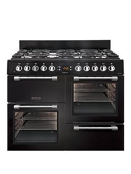 Leisure Ck100F232K 100Cm Dual Fuel Cooker - Black Best Price, Cheapest Prices