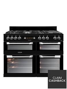 Leisure CS110F722K Cuisinemaster 110cm Dual Fuel Range Cooker - Black