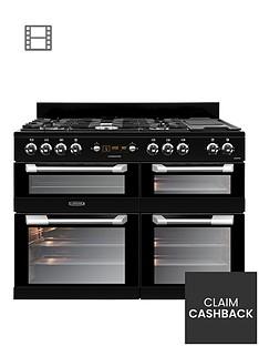 leisure-cs110f722k-cuisinemaster-110cm-dual-fuel-range-cooker-black