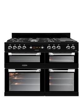 Leisure Cs110F722K Cuisinemaster 110Cm Dual Fuel Range Cooker - Black Best Price, Cheapest Prices