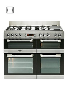 Leisure CS110F722X Cuisinemaster 110cm Dual Fuel Range Cooker - Stainless Steel