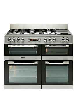Image of Leisure Cs110F722X Cuisinemaster 110Cm Dual Fuel Range Cooker - Stainless Steel