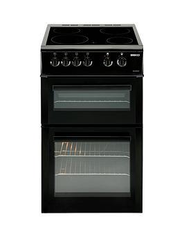 beko-bdvc563ak-50cm-double-oven-electric-cooker-blacknbsp