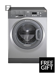 Hotpoint Aquarius WMAQF721G 1200 Spin, 7kg Load Washing Machine - GraphiteA+ Rated Energy