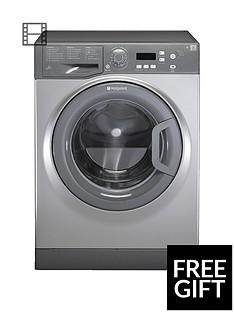 Hotpoint Aquarius WMAQF721G 1200 Spin, 7kg Load Washing Machine - GraphiteA+ Rated Energy