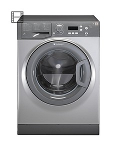 Hotpoint Aquarius WMAQF721G 1200 Spin, 7kg Load Washing Machine A+ Rated Energy - Graphite