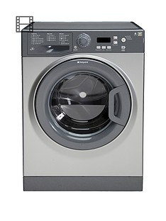 Hotpoint Extra WMXTF742G 1400 Spin, 7kg Load Washing Machine - Graphite