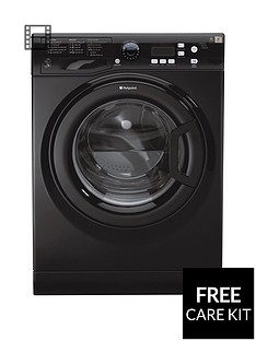 Hotpoint ExtraWMXTF842k 8kg Load, 1400 Spin Washing Machine - Black