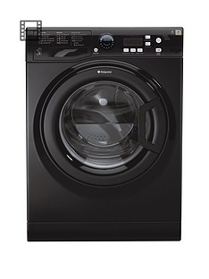 Hotpoint Extra WMXTF842k 8kg Load, 1400 Spin Washing Machine - Black