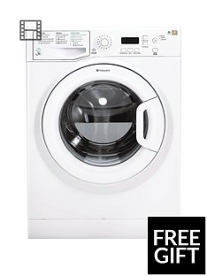 Hotpoint Aquarius WMAQF641P 1400 Spin, 6kg Load, Washing Machine - White