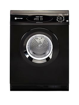 white-knight-c44a7b-7kg-load-vented-dryer-black