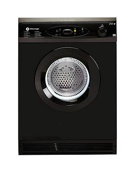 white-knight-c86a7b-7kg-load-vented-sensor-dryer-black