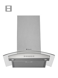 hotpoint-newstyle-hda65sab-60cm-chimney-cooker-hood-stainless-steel