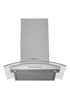 hotpoint-newstyle-hda65sab-60cm-chimney-cooker-hood-stainless-steel