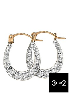 love-gold-9-carat-yellow-gold-crystalique-creole-earrings