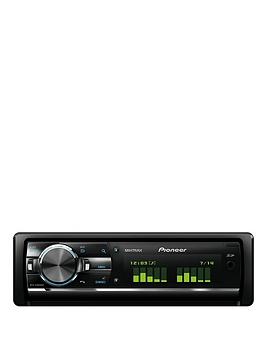 pioneer bluetooth car stereo. pioneer deh-x9600bt car stereo with bluetooth and ipod control | very.co.uk