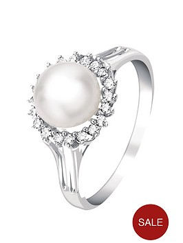 love-diamond-9-carat-white-gold-14-point-diamond-and-cultured-pearl-ring